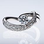 商品撮影・物撮りサンプル 宝石のついた指輪
