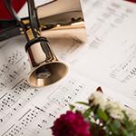 商品撮影・物撮り ハンドベルと楽譜
