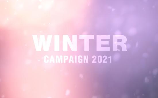 撮影50%OFF!2021ウィンターキャンペーン