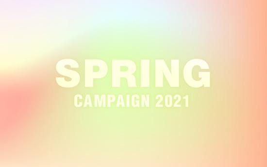 毎日5組様限定で撮影半額・スプリングキャンペーン2021