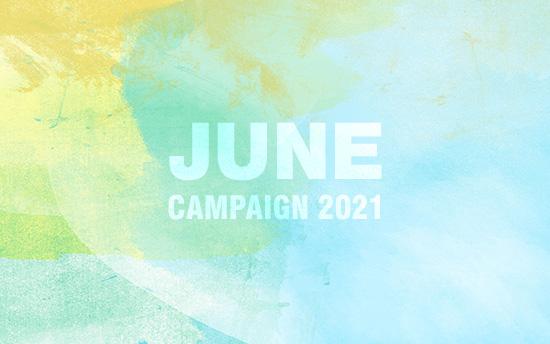 撮影プラン料金半額・6月のキャンペーン